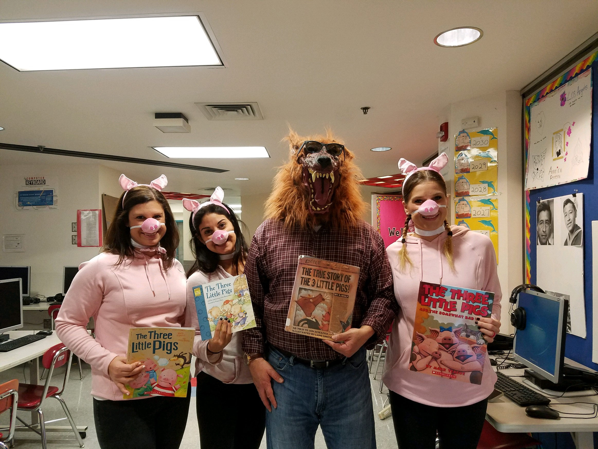 Teacher Book-o-Ween Buddies