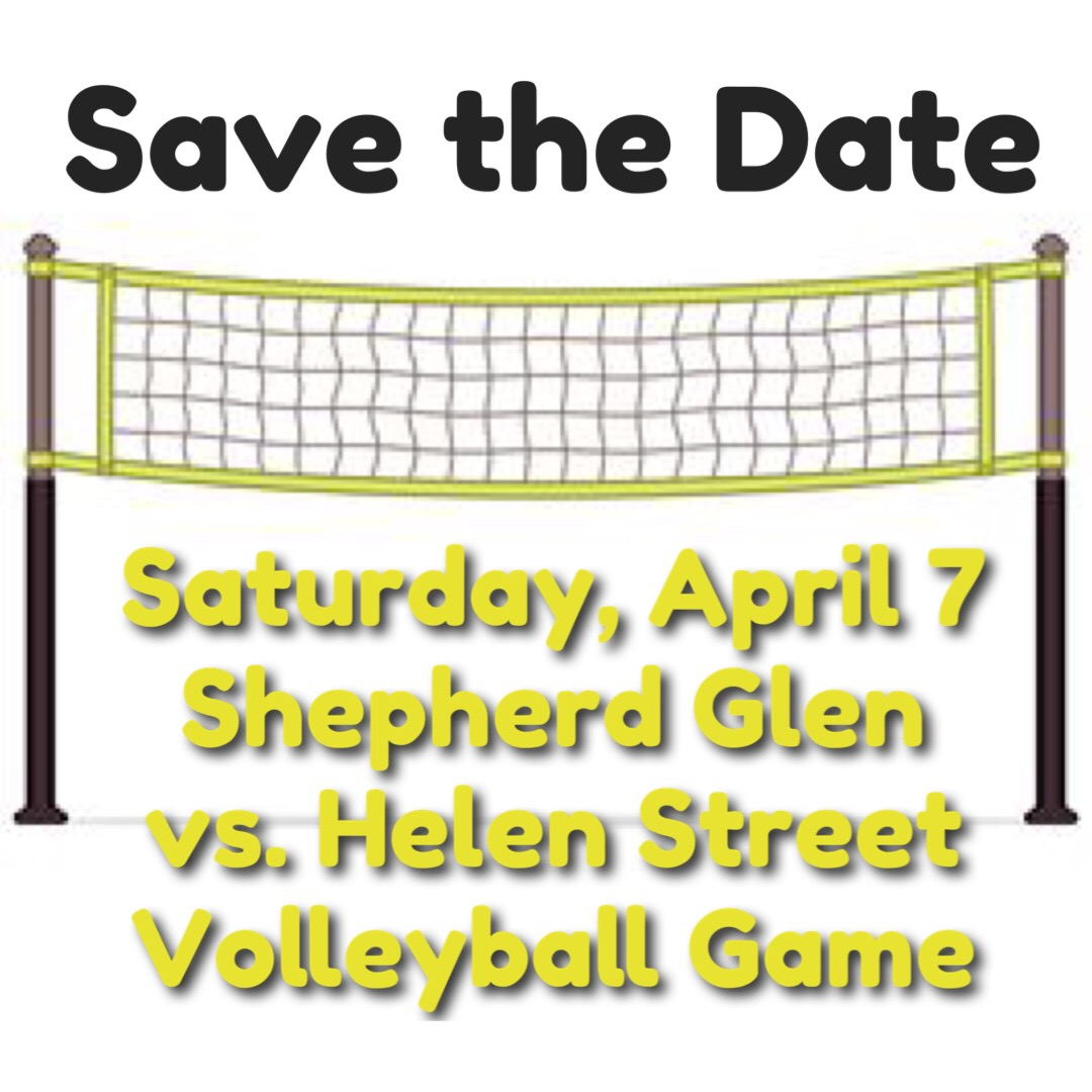 Save the Date - Volleyball Game